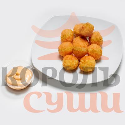 Рисовые шарики с крем-сыром