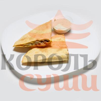 Кесадилья с курицей