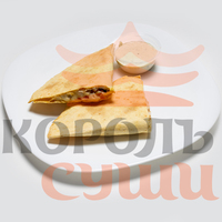 Кесадилья с цыпленком ланч
